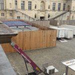 abel location monte materiaux chateau fontainebleau